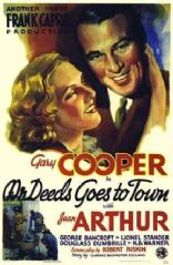 Mr. Deeds Goes to Town  1936 DVD - Gary Cooper / Jean Arthur